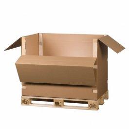 Palettencontainer Aus Wellpappe Im Online Shop Von Transpack Krumbach