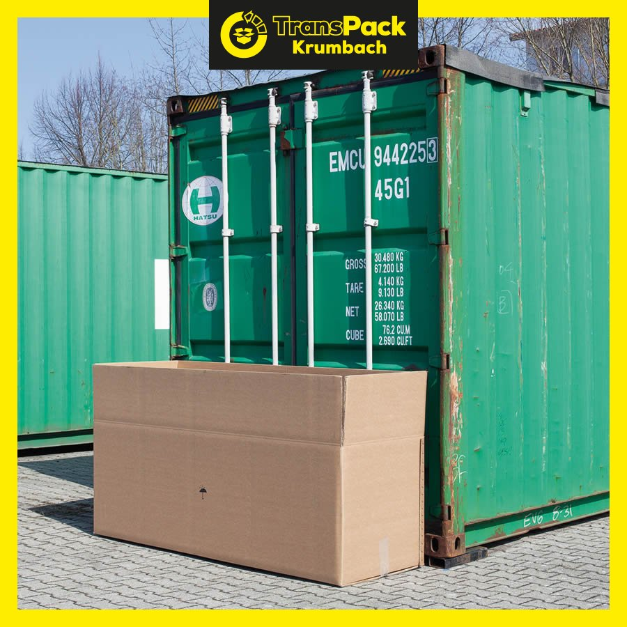 faltkarton f r berseecontainer transpack krumbach. Black Bedroom Furniture Sets. Home Design Ideas