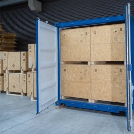 Holzkiste, f�r Container