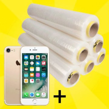 Spar-Set Handstretchfolie HighTec + Gratis Apple iPhone 7