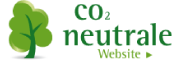 co2-neutrale Website